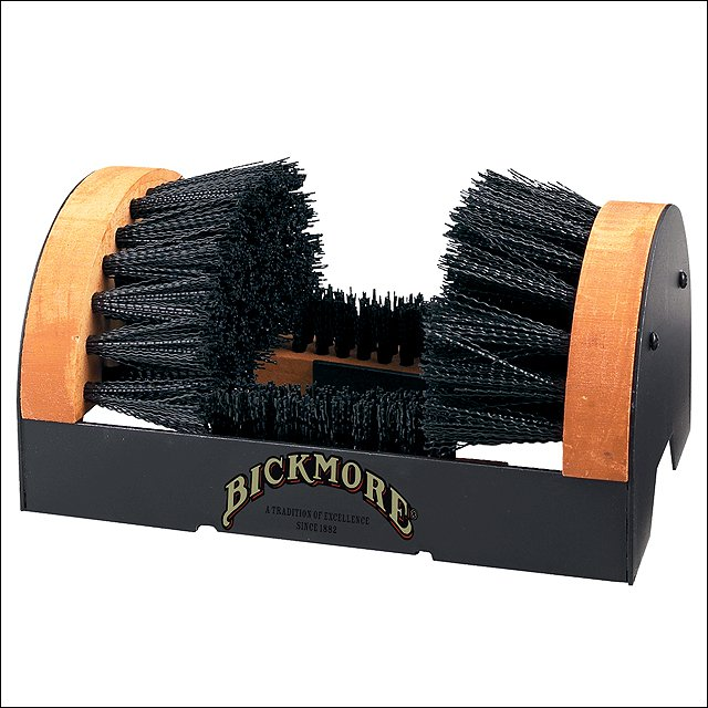 BICKMORE PORTABLE STEEL HARDWOOD BOOT SCRUBBER