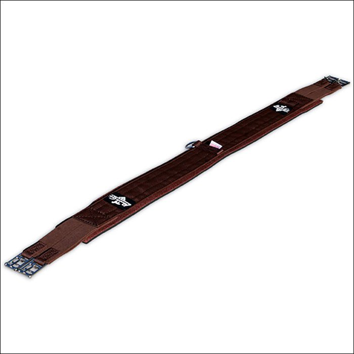 "40"" PROFESSIONAL CHOICE TRAINING ELASTIC SMX ENGLISH HORSE GIRTH CINCH BROWN"