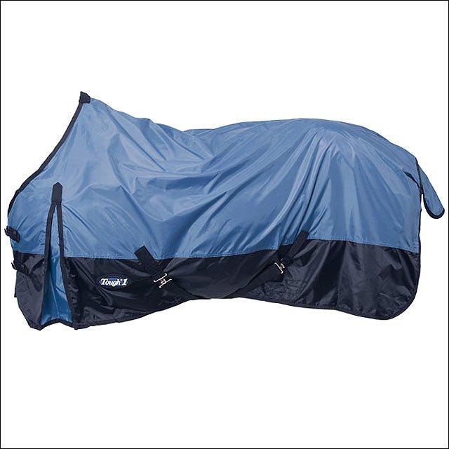81 INCH NAVY BLUE TOUGH-1 420D WATERPROOF TACK HORSE WINTER SHEET