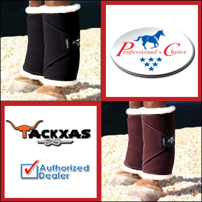 SMALL SWVS PROFESSIONAL CHOICE VENTECH STANDING HORSE LEG WRAPS PAIR