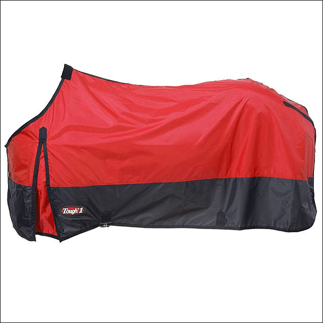 72 INCH RED TOUGH-1 420D POLY STABLE WINTER HORSE SHEET