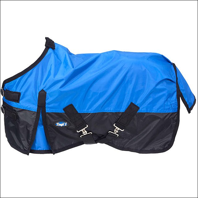36 INCH BLUE TOUGH-1 420D WATERPROOF MINIATURE HORSE WINTER SHEET