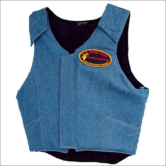 EXTRA LARGE SADDLE BARN PRO RODEO BULL RIDING PROTECTIVE VEST -ADULT