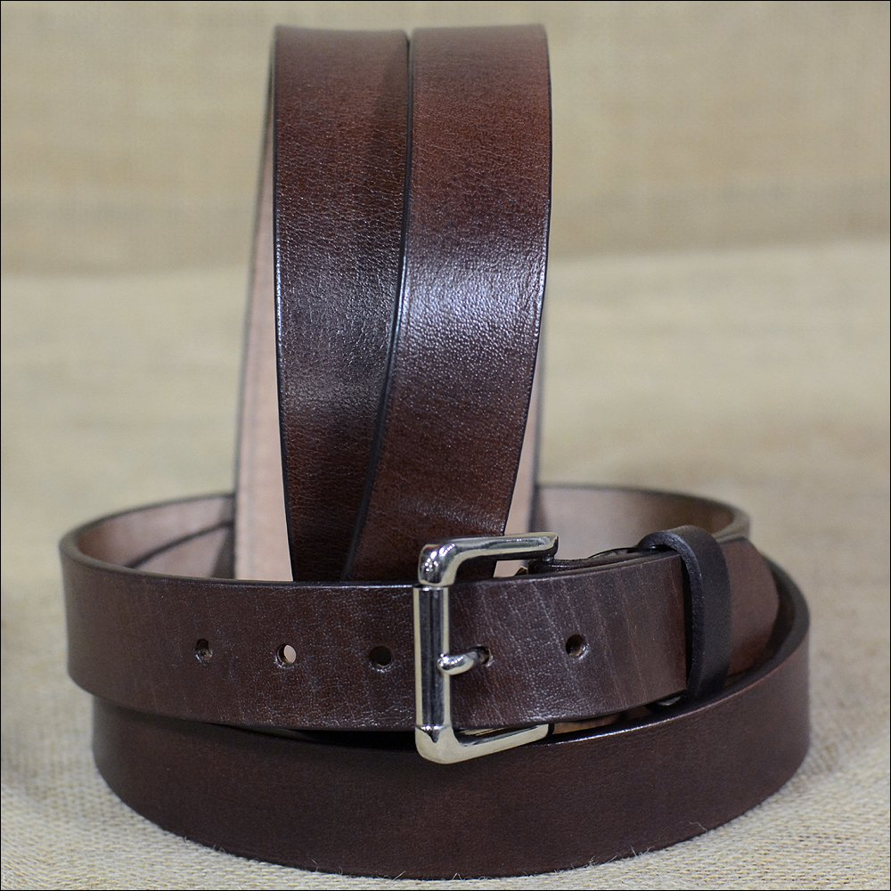 "NI105 46"" HILASON HAND MADE HEAVY DUTY BUFFALO HIDE LEATHER BELT"