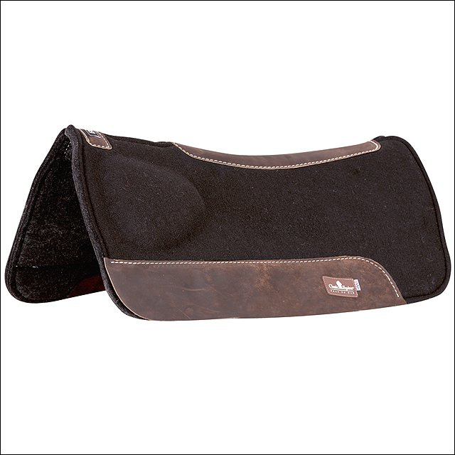 """30X30 CLASSIC EQUINE BIOFIT CORRECTION RELIEF HORSE SADDLE PAD 7/8"""" WOOL BLEND"""