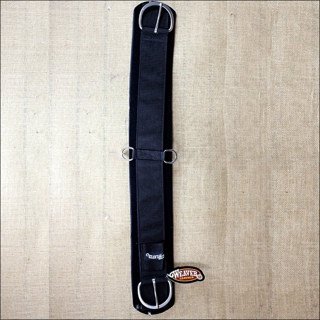 WEAVER LEATHER BLACK HORSE SIZE NEOPRENE CINCH TACK 36 inch
