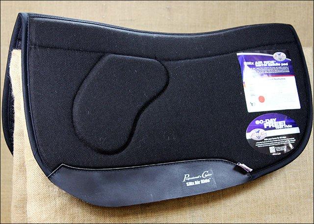 ARSBSF-BLA BLACK PROFESSIONAL CHOICE ORTHO BARREL SMX AIR SADDLE PAD HORSE FELT