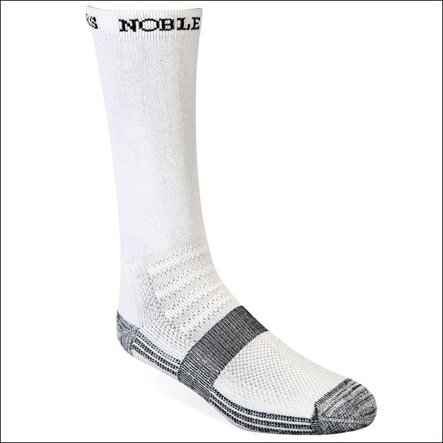 LARGE NOBLE OUTFITTERs LIGHTWEIGHT THE BEST DANG BOOT SOCK CREW BLACK