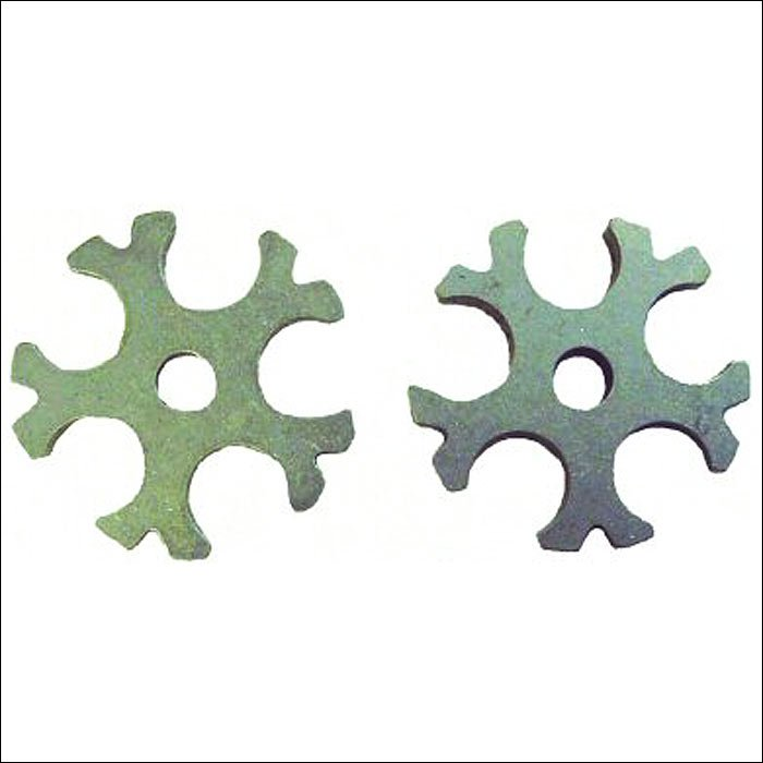 1/14 inch x 1/8 inch SADDLE BARN PRO RODEO 5 POINT STEEL ROWEL