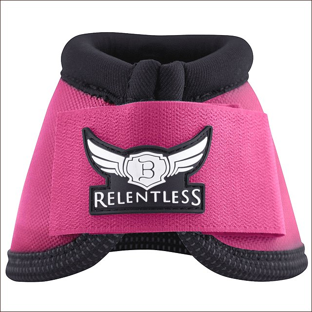 LARGE CACTUS ROPES RELENTLESS STRIKEFORCE NYLON HORSE LEG BELL BOOTS PINK