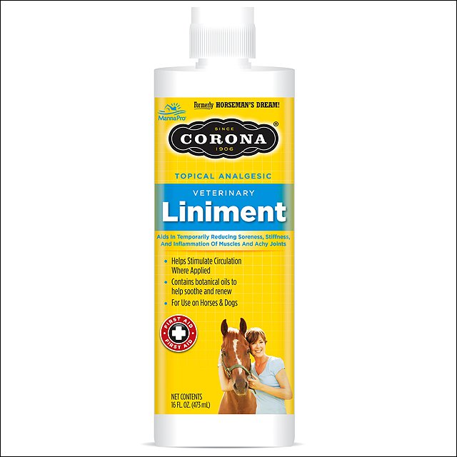 MANNA PRO CORONA TOPICAL ANALGESIC VETERINARY HORSE JOINTS LINIMENT 16OZ