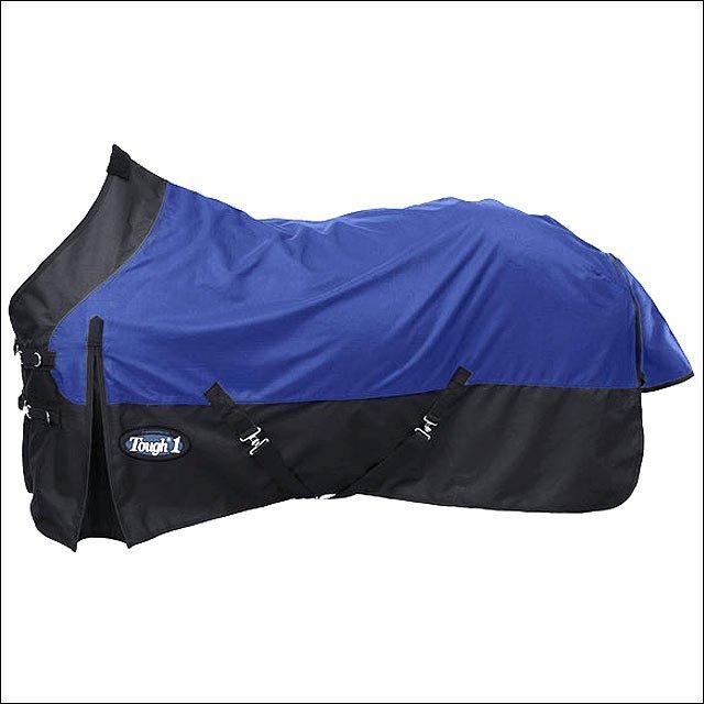 69 INCH NAVY BLUE TOUGH-1 1200D WATERPROOF TACK HORSE WINTER SHEET
