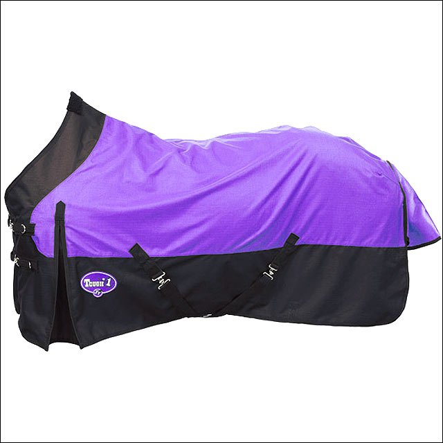 81 INCH PURPLE TOUGH-1 1200D WATERPROOF TACK HORSE WINTER SHEET
