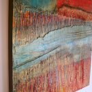 BOLD COLORFUL ABSTRACT PAINTING
