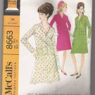 Suit in Women's Sizes and Half Sizes McCall's #8663 Sewing Pattern