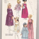 Incomplete Child's and Girls' Dress in Three Lengths Simplicity #9133 Sewing Patterns