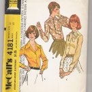 Misses' Set of Blouses, McCall's #4181 Sewing Pattern