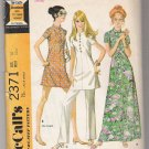 Misses' and Junior Dress in Two Lengths and Pants, McCall's #2371 Sewing Pattern