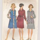 Vest in Two Lengths and Dress in Half-Sizes, Simplicity #5915 Sewing Pattern