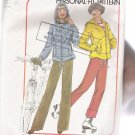 Misses' Unlined Jacket and Pants Simplicity #7715 Sewing Pattern