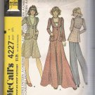 Misses' and Junior Unlined Jacket, Skirt and Pants McCall's #4227 Sewing Pattern