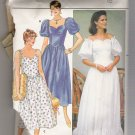 Incomplete Misses' Dress Butterick #6593 Sewing Pattern