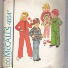 Child's Shirt or Shirt-Jacket, Jumper and Overalls McCall's #4654 Sewing Pattern