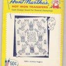Little Angels Hot Iron Transfers Aunt Martha's #3693