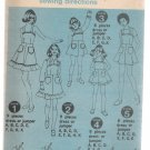Girl's Dress or Jumper Simplicity #6996 Sewing Pattern