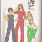 Girls' Pullover Top and Pants Simplicity #8122 Sewing Pattern