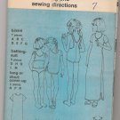 Girls' Bikini, Bathing-suit, and Long or Short Cover-up Simplicity #7507 Sewing Pattern