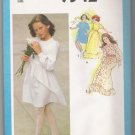 Girls' Dress in Two Lengths Simplicity #9342 Sewing Pattern