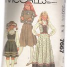 Girls' Jumper and Blouse McCall's #7667 Sewing Pattern