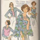 Misses' Shirt & Tank Top Butterick #4725 Sewing Pattern