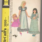 Childs' and Girls' Dress McCall's #3899 Sewing Pattern