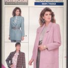 Misses' / Misses' Petite Jacket Butterick #5759 Sewing Pattern