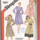 Misses' Dresses with Sleeve Variations Simplicity #5959 Sewing Pattern
