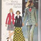 Misses' Blazer, Bias-Skirt Simplicity #5212 Sewing Pattern