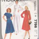Misses' Dress McCall's #7786 Sewing Pattern