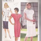 Misses' / Misses' Petite Dress, Top and Skirt Butterick #4815 Sewing Pattern