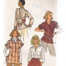 Misses' Top Butterick #6187 Sewing Pattern
