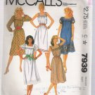 Misses' Dress McCall's #7939 Sewing Pattern