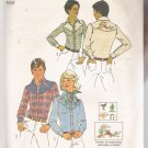 Misses' Shirt Simplicity #7051 Sewing Pattern