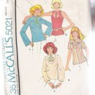 Misses' Set of Tops McCall's #5021 Sewing Pattern