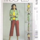 Misses' / Miss Petite Jacket, Top, Skirt and Pants in Two Lengths McCall's #M4878 Sewing Pattern