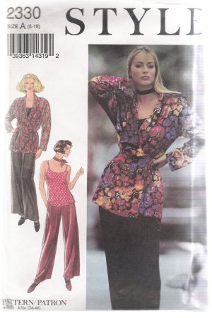 Misses' Separates Style #2330 Sewing Pattern