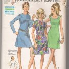 Misses' Bonus Basic Dress with Two Necklines Simplicity #8868 Sewing Pattern
