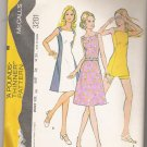 Misses' Dress or Tunic and Shorts McCall's #3201 Sewing Pattern