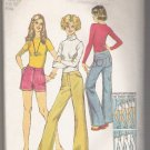 Misses' Jeans in Two Lengths Simplicity #5637 Sewing Pattern