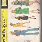 Misses' Dress or Top and Pants McCall's #2632 Sewing Pattern